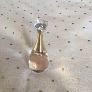 Dior J'adore mini bottle